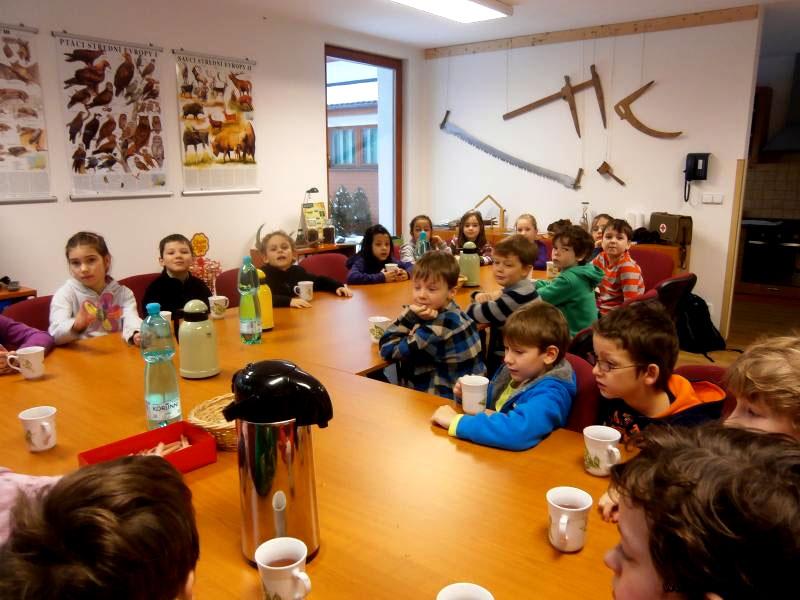 2014 – Lesní pedagogika – 2.B vlesní miniučebně