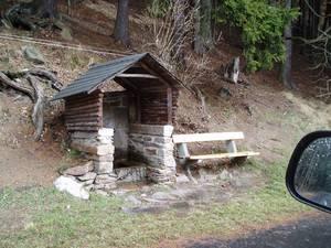 Odpočinková místa pro turisty